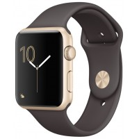 Apple Watch Series 1 42mm with Sport Band Gold Cocoa