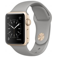 Apple Watch Series 1 38mm with Sport Band Gold Concrete