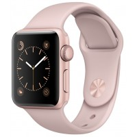 Apple Watch Series 1 38mm with Sport Band Rose Gold Pink