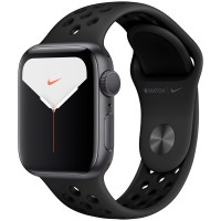 Apple Watch Series 5 Nike 40mm Space Gray Sport Band MX3R2